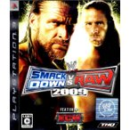 PS3 WWE2009 SmackDown VS Raw【中古】