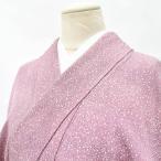 江戸小紋 中古 リサイクル 正絹 えどこもん 裄65cm 紫系 裄Mサイズ 身丈Sサイズ