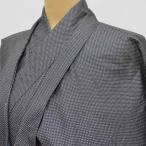 リサイクル 男性 着物 アンサンブル 大島紬 男物 男 羽織 正絹 黒色系 未使用品 mm3924b