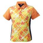 ニッタク(Nittaku) 卓球 レディース ゲームシャツ フラチェックスシャツ オレンジ NW2181 オレンジ M