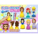 ディズニー プリンセス ソフビ人形 フィギュア 6体1セット 白雪姫 シンデレラ オーロラ姫 アリエル ベル ジャスミン
