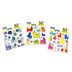 ショッピングシール シール ロディ プチステッカー 3種類柄3枚1セット Rody Petit Sticker