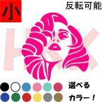 カッティングステッカー 選べる14色 小サイズ セクシー Sexy  艶 レディーガガ 美女  se001-001-1画像