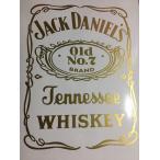 カッティングステッカー 選べる12色 オールド ジャックダニエル  Jack Daniel NO7 ラベル ラインロゴ  デカール si008-014-1