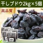 干しブドウ2kg×5個 (500g×20袋) 砂糖不使用 レーズン レスベラトロール アントシアニン ドライフルーツ ポリフェノール お徳用