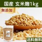 送料無料 玄米麹1kg (乾燥) 国産 塩麹・糀 ワンランク上の塩麹作りに