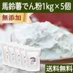 馬鈴薯澱粉1kg×5個 国産 でん粉 でんぷん 無添加 100% 片栗粉 送料無料