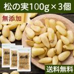松の実100g×3個 無添加 無塩 ノンオイル 食材 新鮮 美味しい おいしい ソース作りに 料理の見栄え 食べごたえ チャック付き袋 送料無料
