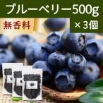 ブルーベリー500g×3個 ドライフルーツ