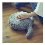 即納 Qoobo クーボ しっぽクッション ぬいぐるみ セラピーロボット 癒しグッズ ロボット ペット ネコ 猫 グッズ 誕生日 父の日 母の日 敬老の日 プレゼント付