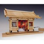 【限定クーポン】木製建築模型 ハーフタイプ 雷門