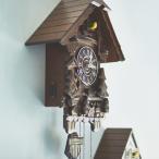 カッコウ鳩時計 森のログハウス EF-CL02