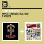 Guns N' Roses ガンズアンドローゼズ / Appetite For Destruction  /  G N'r Lies 輸入盤 〔CD〕