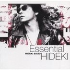 西城秀樹 サイジョウヒデキ / Essential HIDEKI 30th Anniversary Best Collection 1972-1999  〔CD〕
