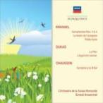 Roussel ルーセル / ルーセル:交響曲第3番、第4番、『くもの饗宴』組曲、小組曲、ショーソン:交響曲、デ