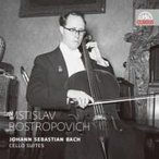Bach, Johann Sebastian バッハ / 無伴奏チェロ組曲全曲 ロストロポーヴィチ(1955年ライヴ)(2CD) 輸入