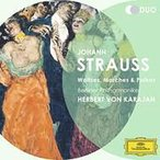 Strauss J2 シュトラウス2世 (ヨハン) / ワルツ&ポルカ集 カラヤン&ベルリン・フィル(1980)(2CD