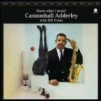 Cannonball Adderley/Bill Evans ����Υ�ܡ��륢���쥣/�ӥ륨�Х� / Know What I Mean (180���������ץ쥳����)  ��LP��