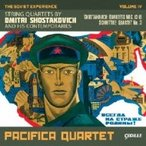 Shostakovich ショスタコービチ / String Quartet,  13,  14,  15,  :  Pacifica Q +schnittke:  Quartet,  3,  (The Soviet Experience Vol.4) 輸