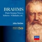 Brahms ブラームス / ピアノ・ソナタ全集、シューマンの主題による変奏曲、4つのバラード、他 カッチェン(