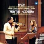 Bach, Johann Sebastian バッハ / ヴァイオリン協奏曲集 ムター、アッカルド&イギリス室内管 国内盤 〔CD〕