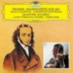 Paganini パガニーニ / ヴァイオリン協奏曲第1番、第2番『ラ・カンパネッラ』 アッカルド、デュトワ&ロン