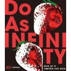 Do As Infinity ドゥーアズインフィニティ / Do As Infinity 15th Anniversary 〜Dive At It Limited Live 2014〜 (Blu-ray)  〔BLU-RAY DISC