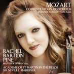 Mozart モーツァルト / ヴァイオリン協奏曲全集、協奏交響曲変ホ長調 バートン・パイン、マリナー&アカデミ