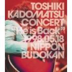 """角松敏生 カドマツトシキ / TOSHIKI KADOMATSU CONCERT """"He is Back"""" 1998.05.18 日本武道館(DVD)  〔DVD〕"""