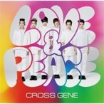 CROSS GENE / Love  &  Peace/sHi-tai!【初回限定盤A】(CD+DVD)  〔CD Maxi〕