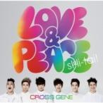 CROSS GENE / Love  &  Peace/sHi-tai!【通常盤】  〔CD Maxi〕