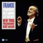 Franck フランク / 交響曲ニ短調、交響詩『アイオロスの人々』 マズア&ニューヨーク・フィル 輸入盤 〔CD〕