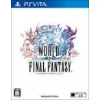 Game Soft (PlayStation Vita) / 【PS Vita】ワールド オブ ファイナルファンタジー  〔GAME〕
