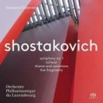 Shostakovich ショスタコービチ / 交響曲第1番、主題と変奏、5つの断章、他 グスターボ・ヒメノ&ルクセンブル