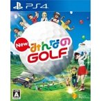 Game Soft (PlayStation 4) / New みんなのGOLF  〔GAME〕