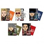 HiGH & LOW THE LAND キャラクリアファイル5枚セット  〔Goods〕