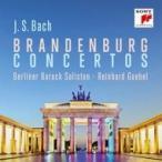 Bach, Johann Sebastian バッハ / ブランデンブルク協奏曲全曲 ラインハルト・ゲーベル&ベルリン・バロック・ゾ
