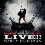 Marty Friedman マーティフリードマン / One Bad M.f. Live!! 輸入盤 〔CD〕