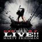 Marty Friedman マーティフリードマン / One Bad M.f. Live!! (Coloured Vinyl)  〔LP〕