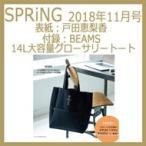 SPRiNG (スプリング) 2018年 11月号 / SPRiNG編集部  〔雑誌〕