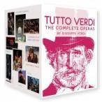 Verdi ベルディ / 『トゥット・ヴェルディ〜26のオペラ全曲とレクィエム+ドキュメンタリー』(27BD)  〔BLU-RAY