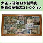 大正〜昭和 日本紙幣史総覧豪華額装コレクション
