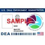 US レプリカ IDカード(DEA) 両面  IDホルダー付 送料185円