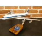 【再入荷しました!!】 1/100  B707-300 PANAM(ボーイング) 模型飛行機  民間航空機(旅客機) ソリッドモデル 木製模型