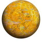 3D球体パズル 金星儀-THE VENUS-(2003-422) やのまん
