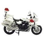 1/12 完成品バイク CB1300P 白バイ 神奈川県警   アオシマ