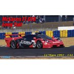 フジミ 1/24 リアルスポーツカーシリーズ No.091 マクラーレンF1 GTR ロングテール ル・マン 1997 #44(RS-91) プラモデル 模型