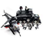 AFM SWAT シリーズ タイガー号&アパッチ号&ミニフィグ7体 716Blocks