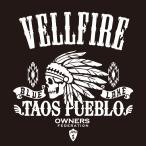 カッティングステッカー トヨタ(TOYOTA)ヴェルファイア VELLFIRE apache 車 カー ステッカー アクセサリー シール ガラス[◆]