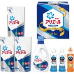 お中元 洗剤 ギフト 送料無料 P&G アリエールイオンパワージェルセット アルファ(PGAS-30X) / 御中元 贈り物 詰め合わせ 液体洗剤